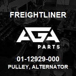01-12929-000 Freightliner PULLEY, ALTERNATOR | AGA Parts