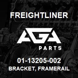 01-13205-002 Freightliner BRACKET, FRAMERAIL | AGA Parts