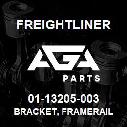 01-13205-003 Freightliner BRACKET, FRAMERAIL | AGA Parts