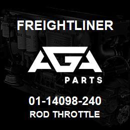 01-14098-240 Freightliner ROD THROTTLE | AGA Parts
