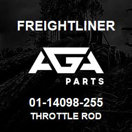 01-14098-255 Freightliner THROTTLE ROD | AGA Parts