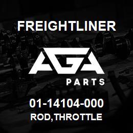 01-14104-000 Freightliner ROD,THROTTLE | AGA Parts