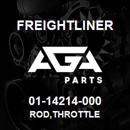 01-14214-000 Freightliner ROD,THROTTLE | AGA Parts