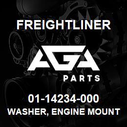 01-14234-000 Freightliner WASHER, ENGINE MOUNT | AGA Parts