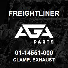 01-14551-000 Freightliner CLAMP, EXHAUST | AGA Parts