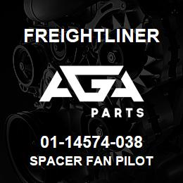 01-14574-038 Freightliner SPACER FAN PILOT | AGA Parts