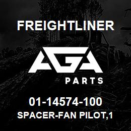 01-14574-100 Freightliner SPACER-FAN PILOT,1 | AGA Parts