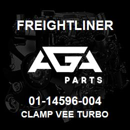 01-14596-004 Freightliner CLAMP VEE TURBO | AGA Parts
