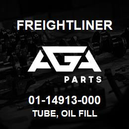 01-14913-000 Freightliner TUBE, OIL FILL | AGA Parts