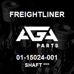 01-15024-001 Freightliner SHAFT *** | AGA Parts