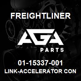 01-15337-001 Freightliner LINK-ACCELERATOR CONTR | AGA Parts