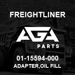 01-15594-000 Freightliner ADAPTER,OIL FILL | AGA Parts