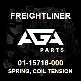 01-15716-000 Freightliner SPRING, COIL TENSION | AGA Parts