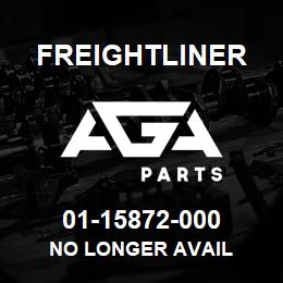 01-15872-000 Freightliner NO LONGER AVAIL | AGA Parts