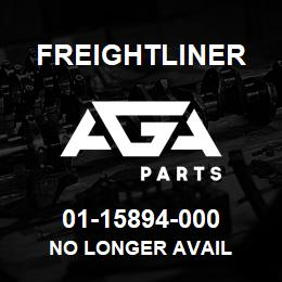 01-15894-000 Freightliner NO LONGER AVAIL | AGA Parts
