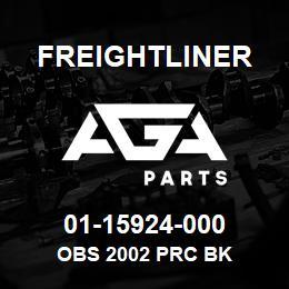 01-15924-000 Freightliner OBS 2002 PRC BK | AGA Parts