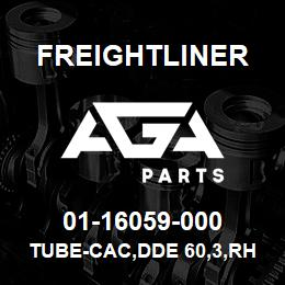 01-16059-000 Freightliner TUBE-CAC,DDE 60,3,RH   AGA Parts