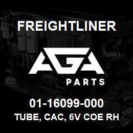 01-16099-000 Freightliner TUBE, CAC, 6V COE RH | AGA Parts