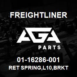 01-16286-001 Freightliner RET SPRING,L10,BRKT | AGA Parts