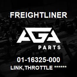 01-16325-000 Freightliner LINK,THROTTLE ****** | AGA Parts