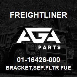01-16426-000 Freightliner BRACKET,SEP.FLTR FUE   AGA Parts