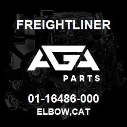 01-16486-000 Freightliner ELBOW,CAT | AGA Parts