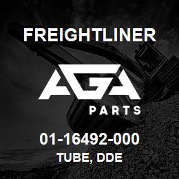 01-16492-000 Freightliner TUBE, DDE | AGA Parts