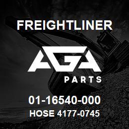 01-16540-000 Freightliner HOSE 4177-0745 | AGA Parts