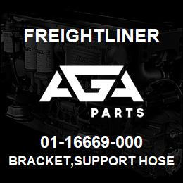 01-16669-000 Freightliner BRACKET,SUPPORT HOSE | AGA Parts