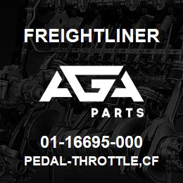 01-16695-000 Freightliner PEDAL-THROTTLE,CF | AGA Parts