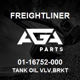 01-16752-000 Freightliner TANK OIL VLV,BRKT | AGA Parts
