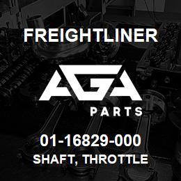 01-16829-000 Freightliner SHAFT, THROTTLE | AGA Parts