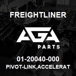 01-20040-000 Freightliner PIVOT-LINK,ACCELERATOR | AGA Parts