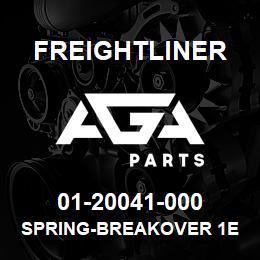 01-20041-000 Freightliner SPRING-BREAKOVER 1E | AGA Parts