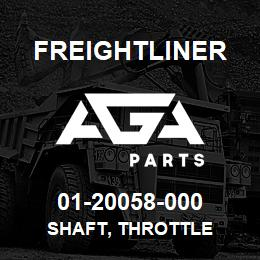 01-20058-000 Freightliner SHAFT, THROTTLE | AGA Parts