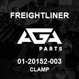 01-20152-003 Freightliner CLAMP | AGA Parts
