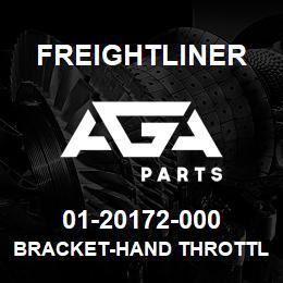 01-20172-000 Freightliner BRACKET-HAND THROTTLE | AGA Parts