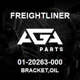 01-20263-000 Freightliner BRACKET,OIL | AGA Parts