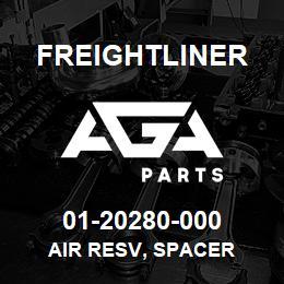 01-20280-000 Freightliner AIR RESV, SPACER | AGA Parts