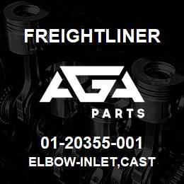 01-20355-001 Freightliner ELBOW-INLET,CAST | AGA Parts