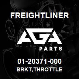 01-20371-000 Freightliner BRKT,THROTTLE   AGA Parts