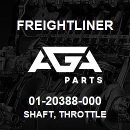 01-20388-000 Freightliner SHAFT, THROTTLE | AGA Parts