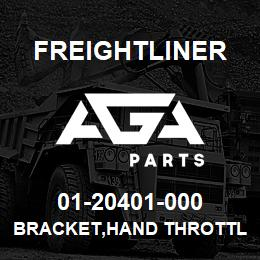 01-20401-000 Freightliner BRACKET,HAND THROTTL | AGA Parts