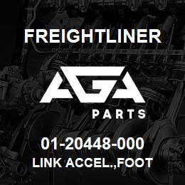01-20448-000 Freightliner LINK ACCEL.,FOOT | AGA Parts