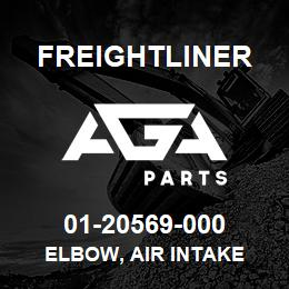 01-20569-000 Freightliner ELBOW, AIR INTAKE | AGA Parts