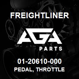01-20610-000 Freightliner PEDAL, THROTTLE | AGA Parts