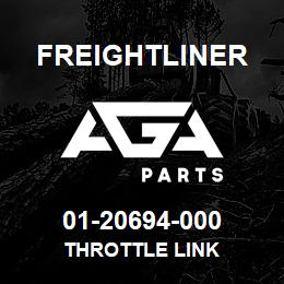 01-20694-000 Freightliner THROTTLE LINK   AGA Parts