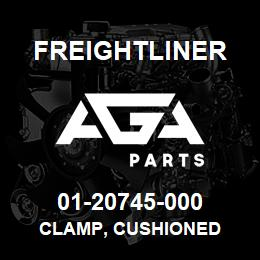 01-20745-000 Freightliner CLAMP, CUSHIONED | AGA Parts