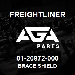 01-20872-000 Freightliner BRACE,SHIELD | AGA Parts