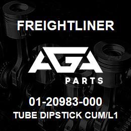 01-20983-000 Freightliner TUBE DIPSTICK CUM/L10 | AGA Parts